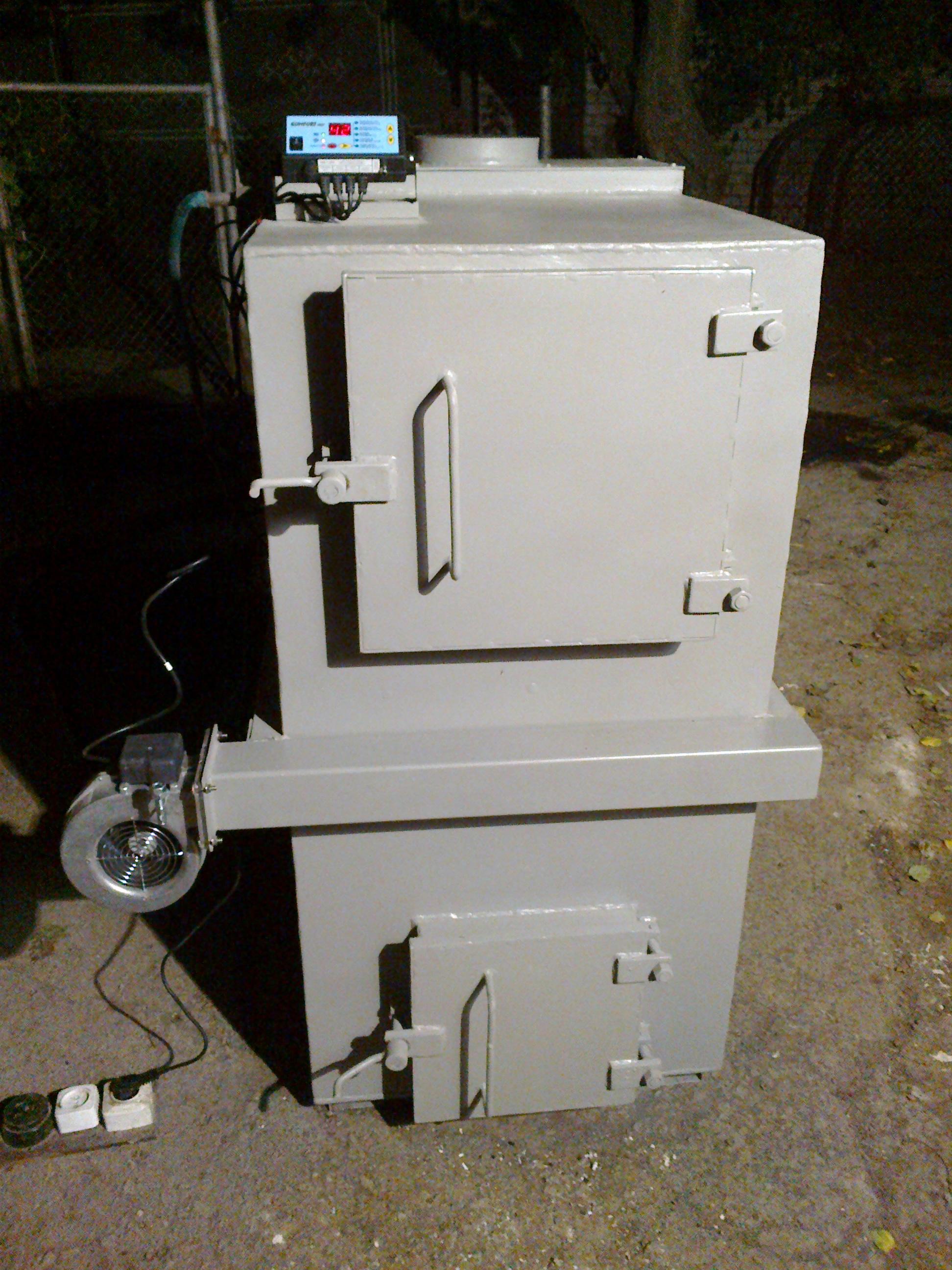 Пиролизный котел 50 кВт